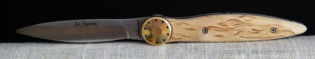 cuchillo artesano figeac