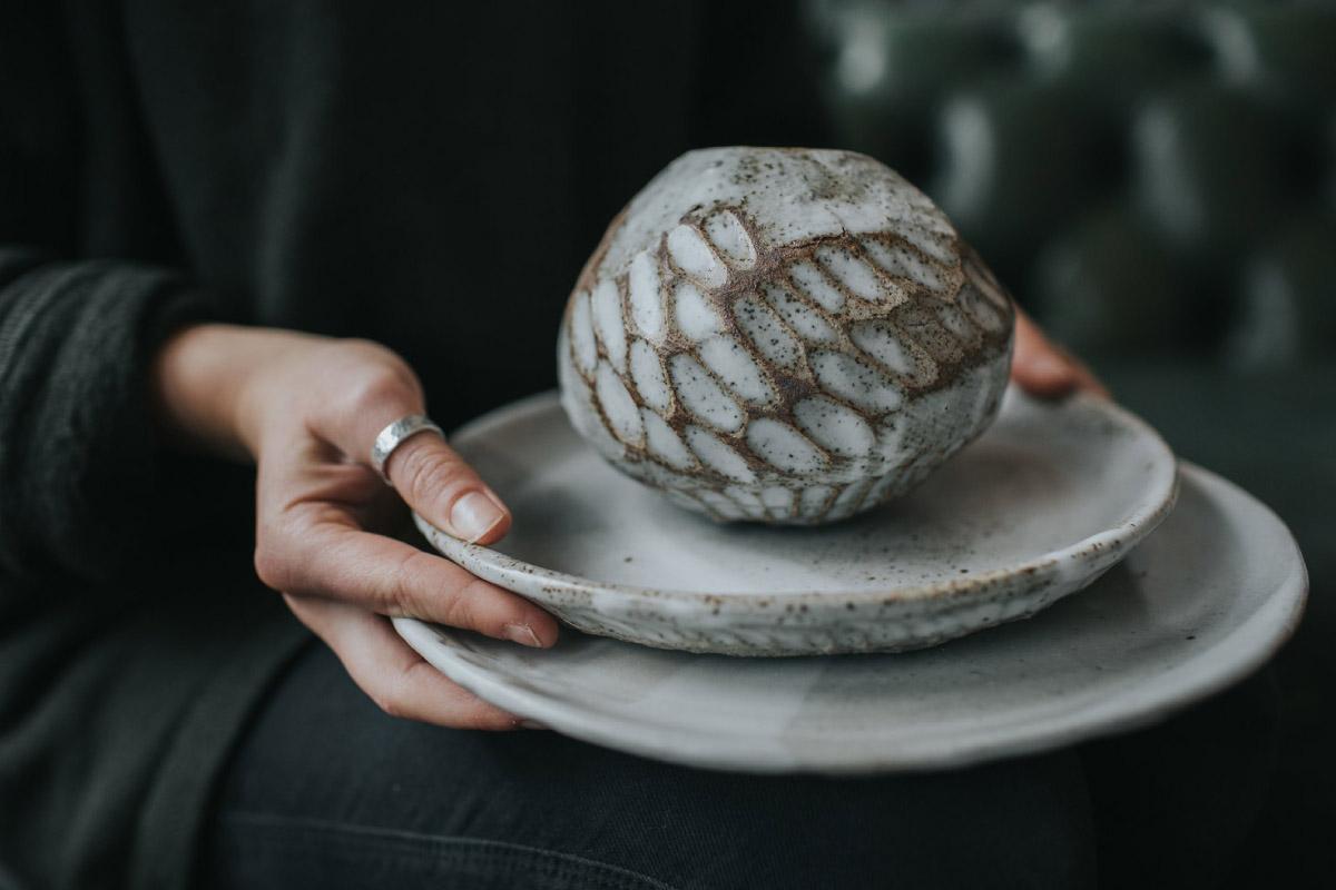 ceramica plato vajilla inglesa