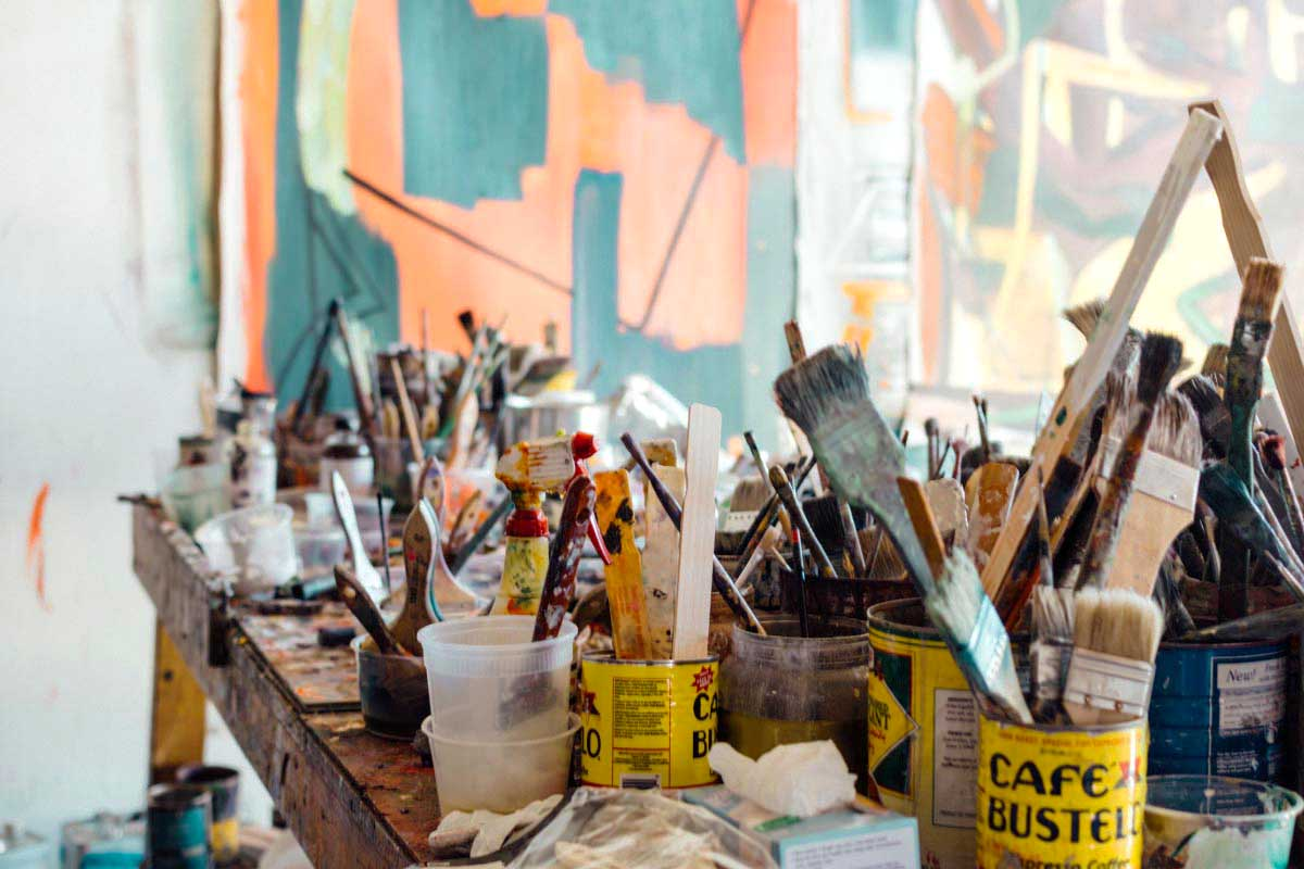 Make your painting studio a productive (and inspiring) place